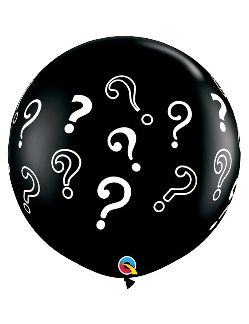 3 foot Question Marks Balloon