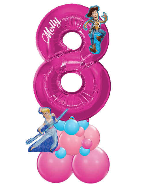 Pink Stack Number 8 Toy Story