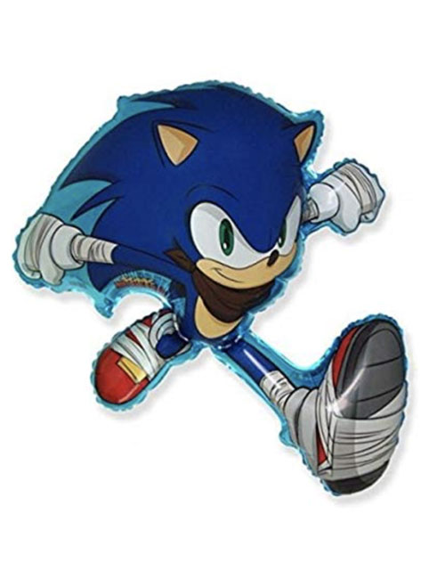 Sonic the Hedge Hog Supershape Balloon