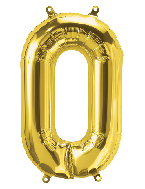 16 inch Gold Letter O