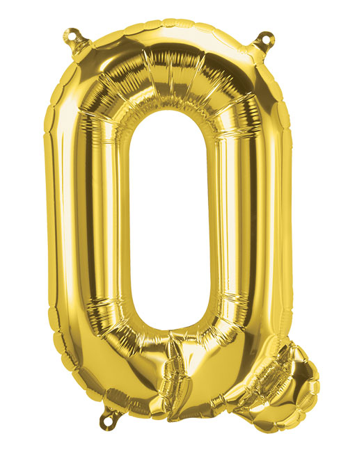 16 inch Gold Letter Q