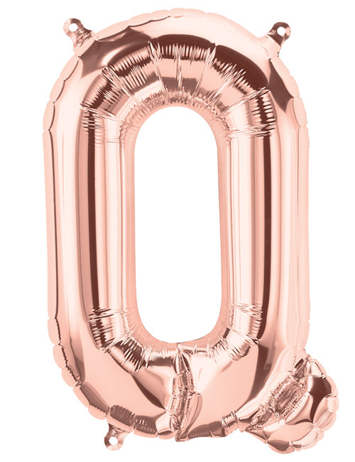 16 inch Rose Gold Letter Q