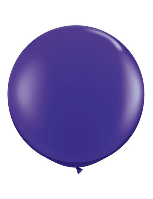 3 Foot Purple balloon