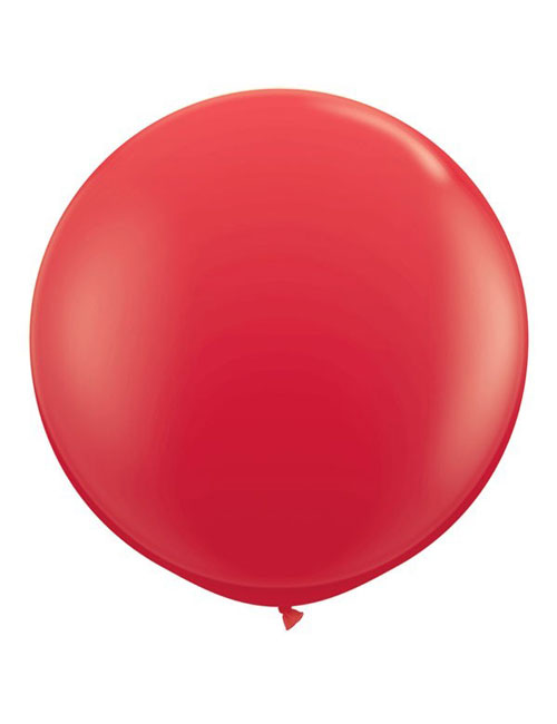 3 Foot Red Balloons