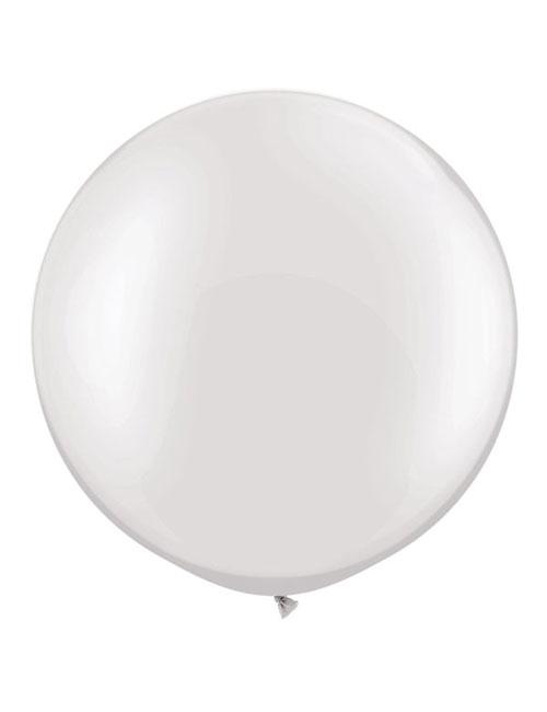3 Foot White Balloon