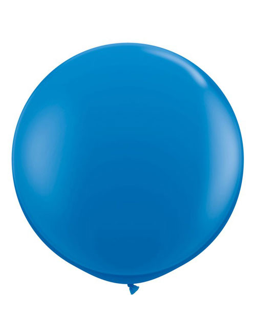 3 foot Dark Blue Balloon