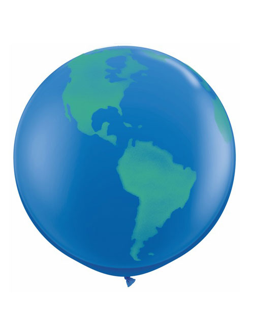 3 foot Globe balloon