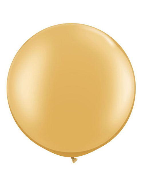 3 foot Gold Balloon