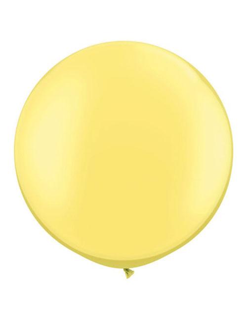 3 foot Yellow balloon