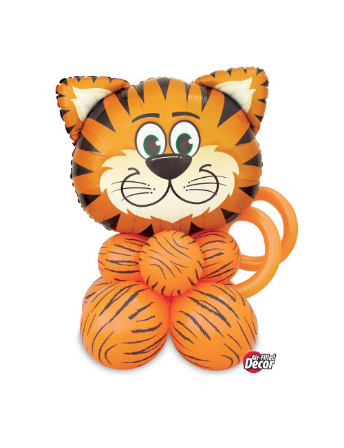 AIr filled Tiger balloon display