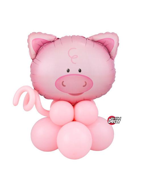 Air Filled Pig Balloon Display