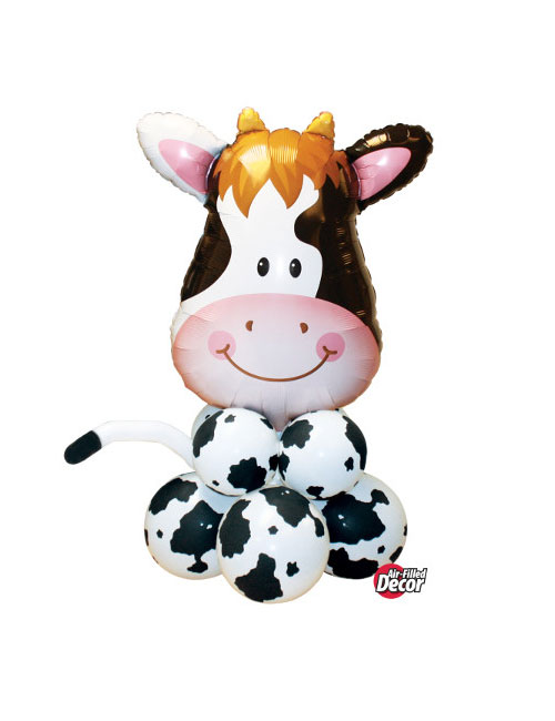 Air filled Cow Balloon Display