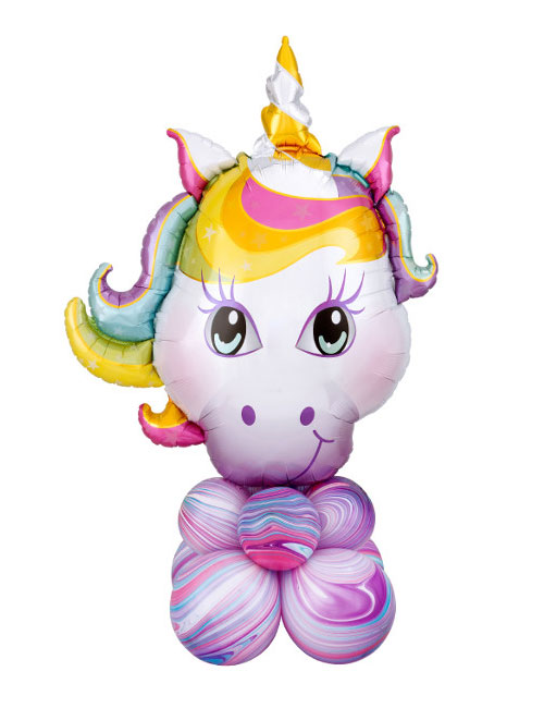 Air filled Unicorn BAlloon Display