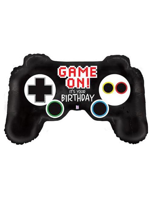 Game Controller Foil Balloon