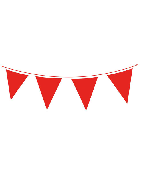 Red Waterproof Bunting