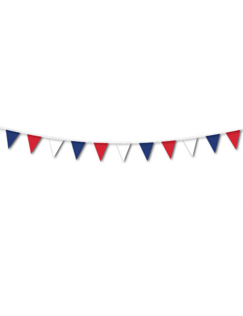 Red White Blue Bunting 25m