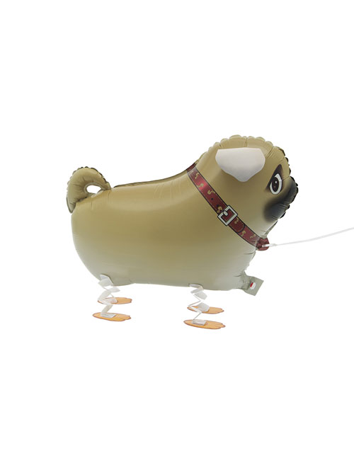 Walking Pet Pug Balloon
