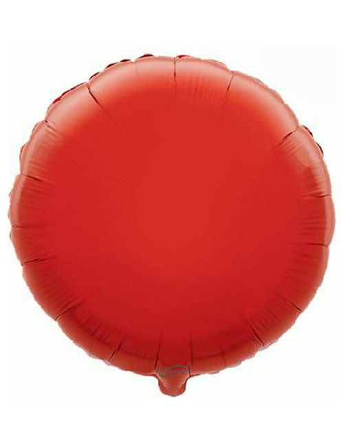 18inch Red Round Foil Balloon