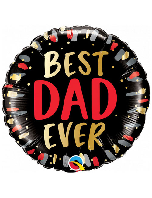 18 inch Best Dad Ever Balloon