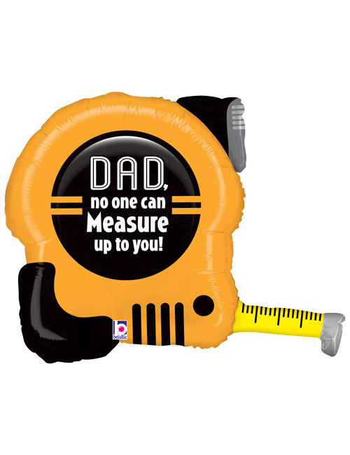 30 inch Dad Tape Measure Balloon