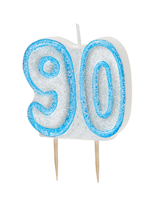 Blue Candle Number 90