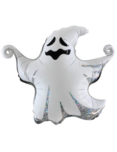 17 inch Air Filled Scary Ghost Balloon