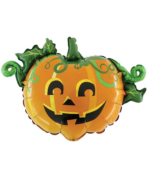17 inch Air Filled Scary Pumpkin Linky