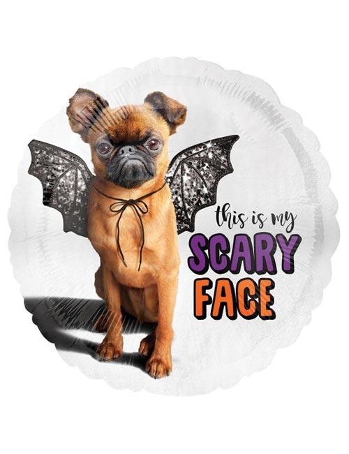 18 inch Bat Dog Balloon