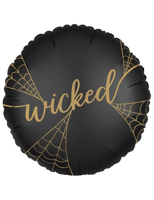 "18"" Satin Luxe Wicked Witch Foil Balloon"