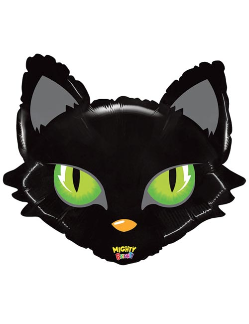 28 inch Mighty Cat Head Balloon