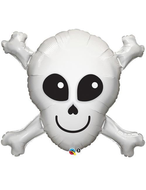 32 inch Happy Skull Balloon