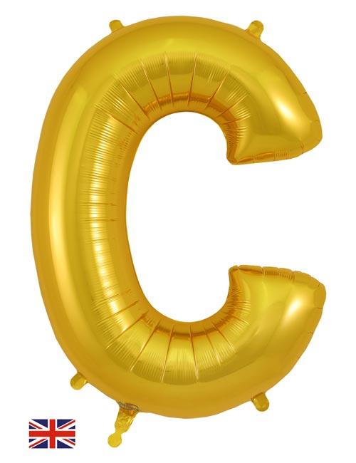 Gold Letter C