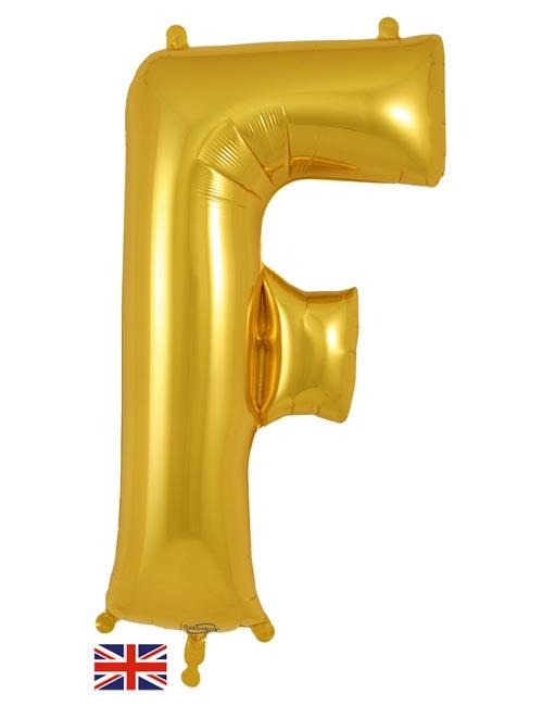Gold Letter F