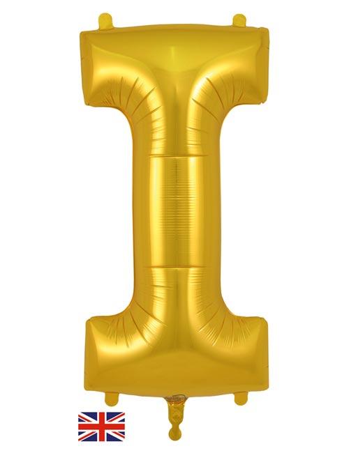 Gold Letter I