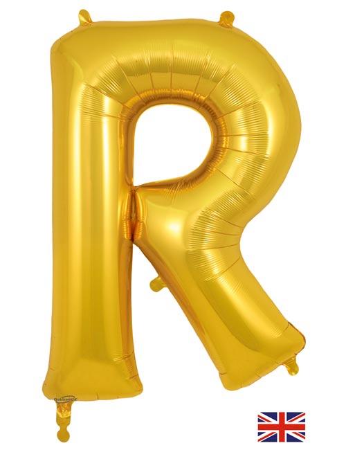 Gold Letter R