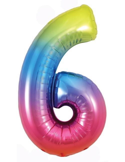 Rainbow Number 6