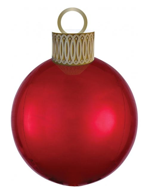 Red Orbz Bauble