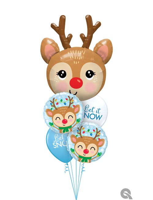 Reindeer Balloon Bouquet
