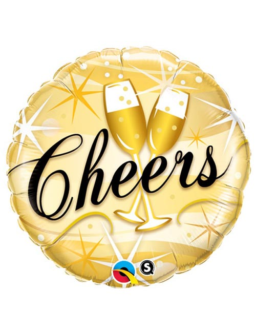18 inch Cheers Foil Balloon