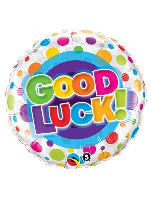 Good Luck Dots Balloon