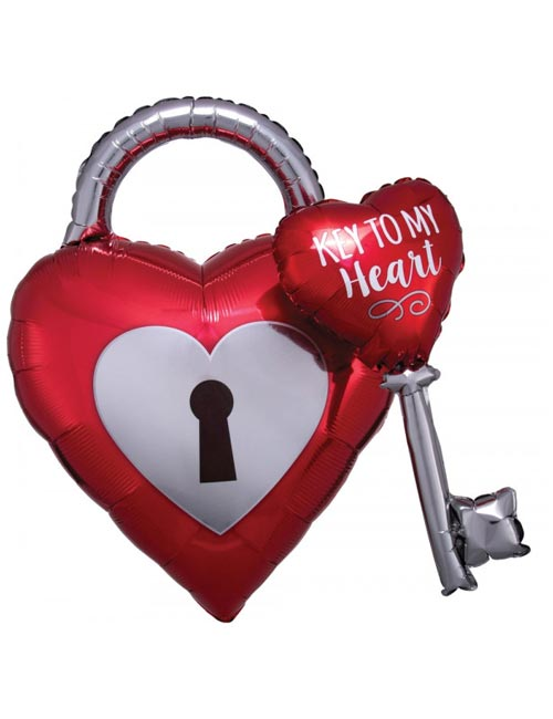 Key to my Heart Balloon