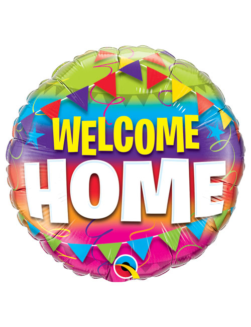 18 inch Welcome Home Foil Balloon