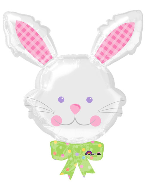 Bunny Rabbit Head Balloon