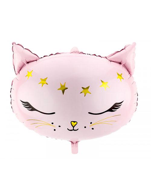 Cat head Pink Shape