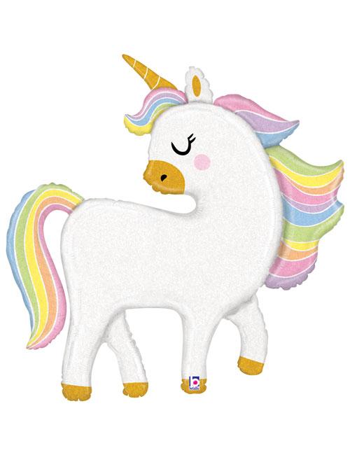 Glitter Pastel Unicorn