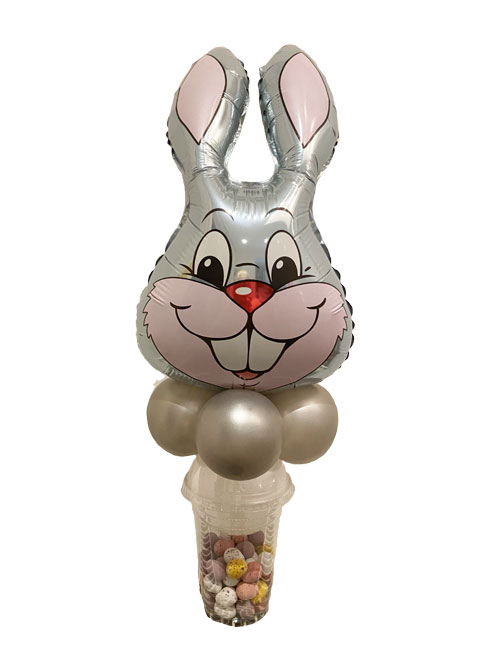Grey Bunny Sweetie Cup