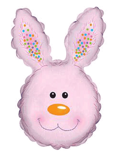 Pink Bunny Rabbit Head