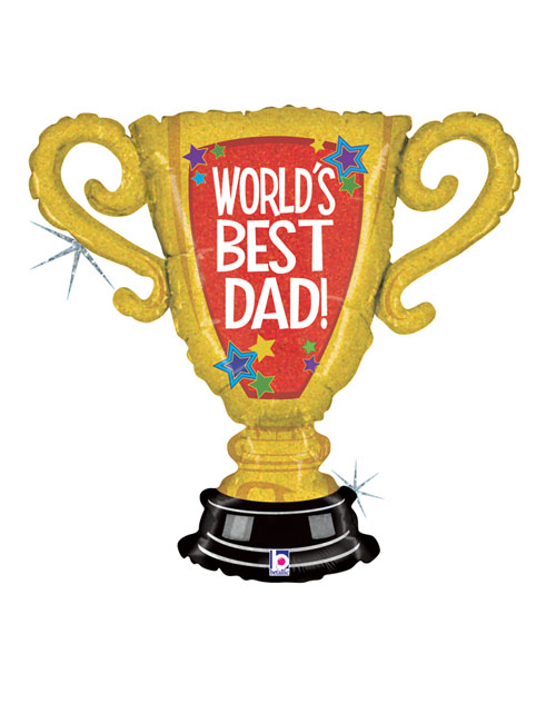 Fathers Day Trophy Balloon