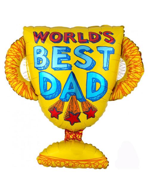 Worlds Best Dad Balloon