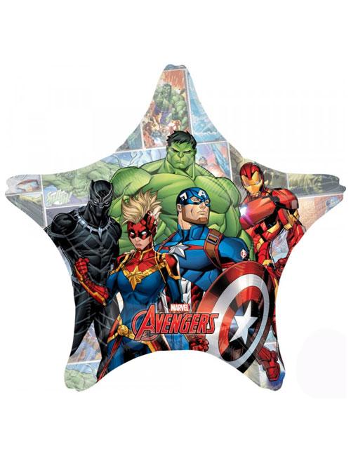 Avengers Star Shape Balloon